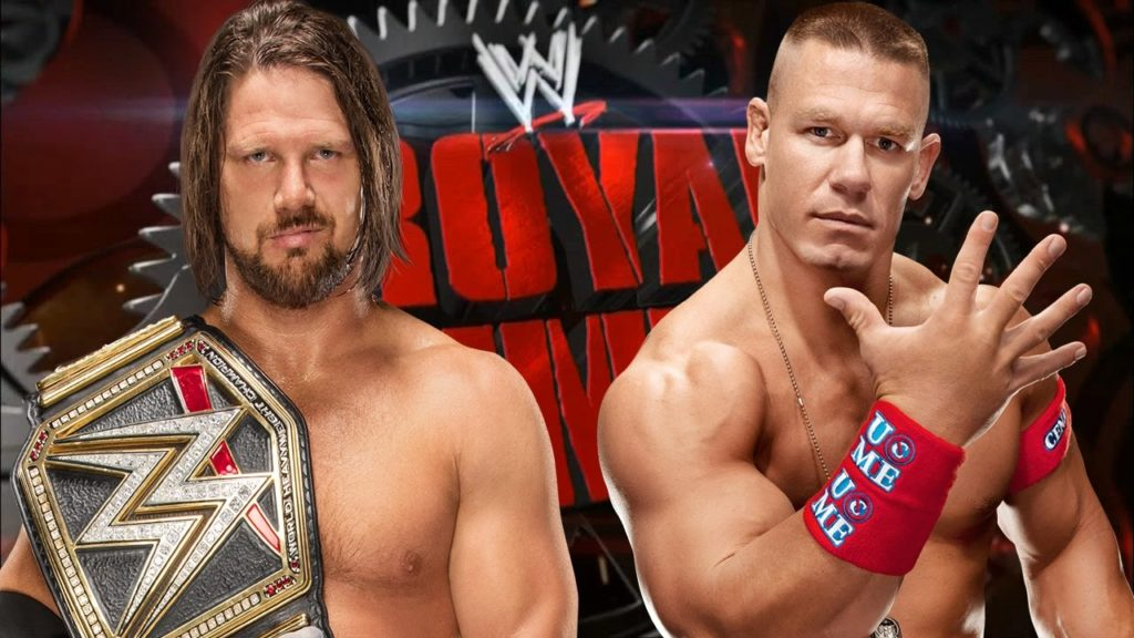 WWE Royal Rumble 2017 – FNX Network