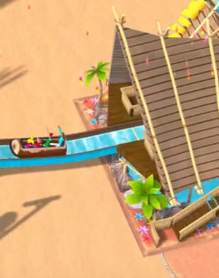 New Water Park Expansion for Atari's RollerCoaster Tycoon
