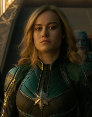 Photo of Captain Marvel in the film