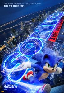 Image of Sonic Movie Poster