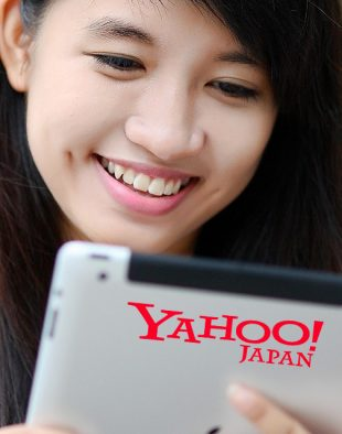 Image of a girl using an iPad