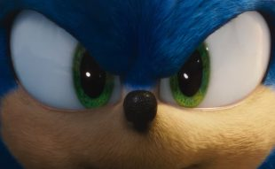 Sonic in Sonic's New Trailer