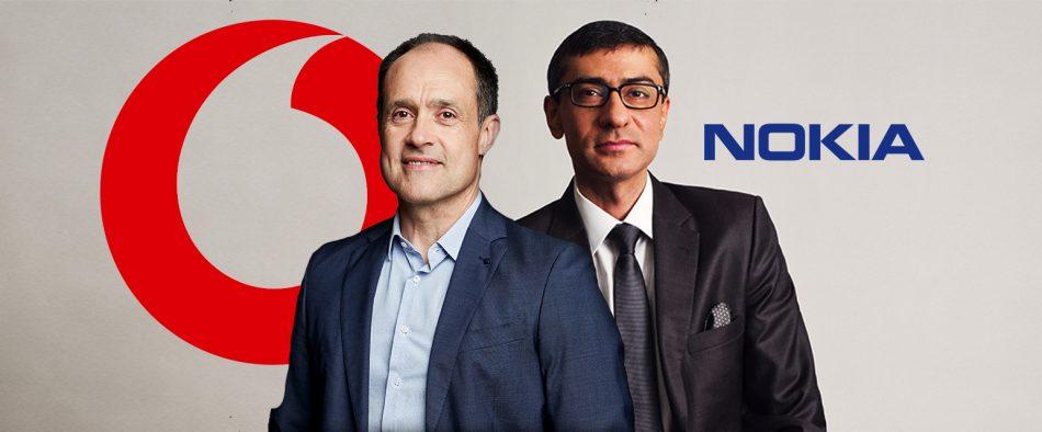Nokia and Vodafone Chief Executives
