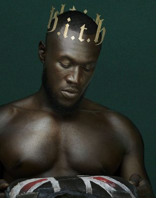 Image of Stormzy's album cover, Heavy is the Head cover photo